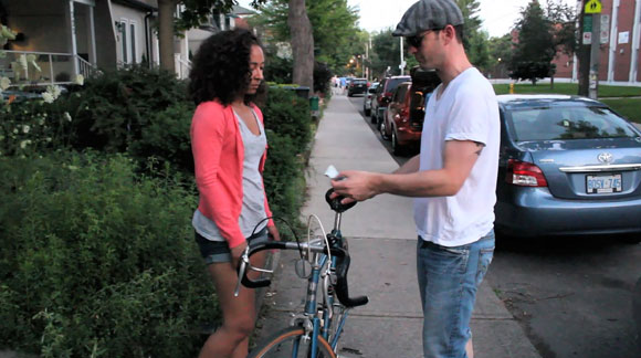 Beater is a silent, one-minute film that filmmaker Jerome Skeete describes as the story of 'a bike in transition as it moves from one owner to the next.' The film is one of 82 selected for this year's Toronto Urban Film Festival.