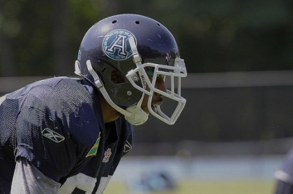 Toronto Argonauts #85 Wide-Receiver John Chiles (Tim Alamenciak, Flickr)