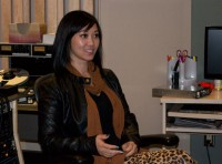 Program director for Scarborough Arts, Jen Fabico.