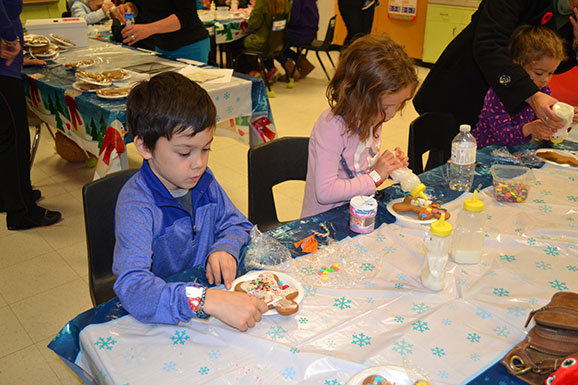 Decorating ginger bread cookies was just one of the festivities at the Charlottetown Winter Fair on Nov. 9.