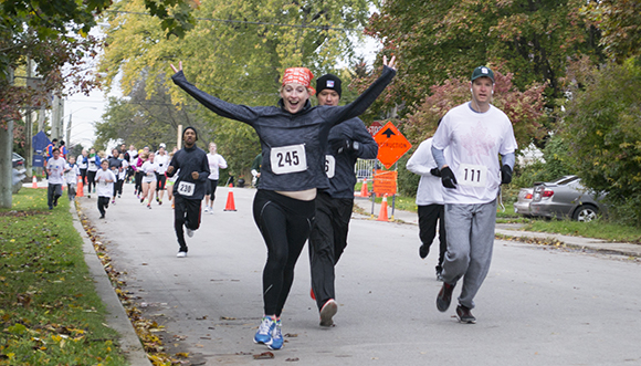 The Walk Roll Run event, on Oct. 27, starts off with excitement as  participants raise money for Variety Village.