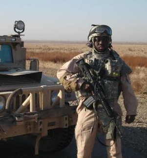 Fidelis Oketch went into the Iraq War in 2006, during President George W. Bush's surge campaign.