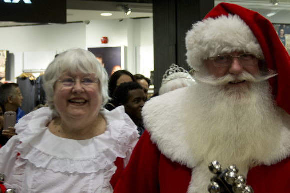 Santa and Mrs. Claus made an early arrival at Scarborough Town Centre on Nov. 12. They'll be living there until Christmas, so be sure to get a photo while you can.