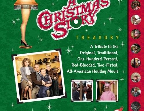 The cover art for Tyler Schwartz, A Christmas Story Treasury. The book is honouring the 30th anniversary of the classic Christmas Story.