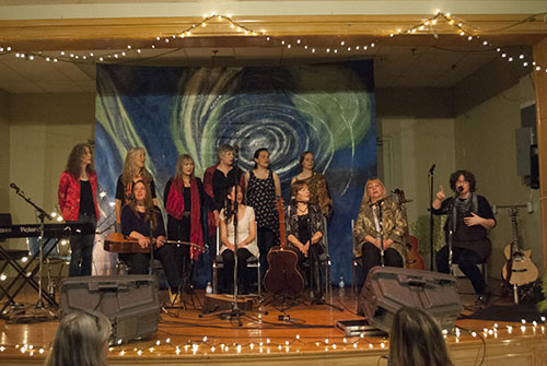 Harmonies, singalongs, and acoustic sounds fill St. Nicholas Anglican Church , near Warden and Kingston roads. Performers are part of the ensemble group, Essentia, and are at the Scarborough church to entertain and educate.
