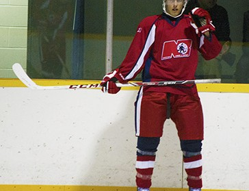 Shawn Tessier, 17, went up the levels of hockey to the OHL in only four years.