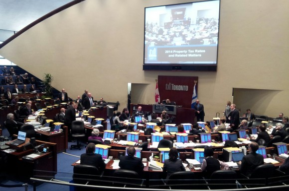 Toronto City Council approves tax increase for 2014/David Kennedy Toronto Observer