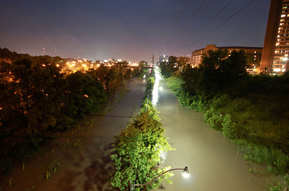 The July rainstorm that flooded Bayview Avenue and other parts of Toronto, has been called 'the most expensive insured natural disaster in Ontario's history' by the Insurance Bureau of Canada. (Photo used with permission under CC BY-NC-ND 2.0 licence: http://creativecommons.org/licenses/by-nc-nd/2.0/)