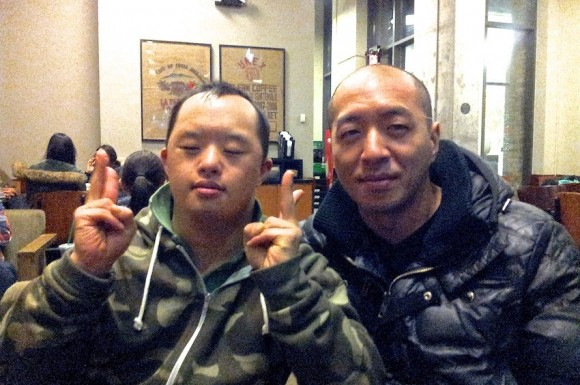 David La (left) and Eugene La (right) are putting their lives back together after an accident killed their mother three months ago.