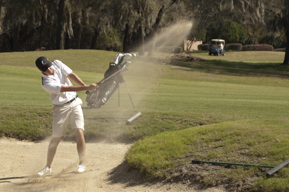 Ohio native Jared Howard shot a 3-over par 75 on Monday at the Lake Jovita Golf and Country Club.