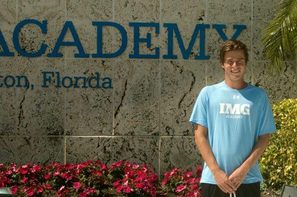 Toronto's Luke Smith hopes the IMG Academy tennis training will help him earn a successful collegiate career.