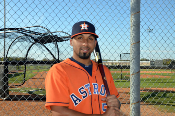 Puerto Rican catcher Jobduan Morales is trying out for the Houston Astros.