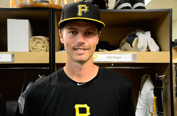 Kirk Singer started out as a shortstop but has set his sights on the pitchers' mound.