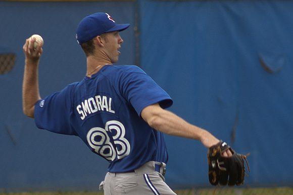 Ohio native Matt Smoral spent the 2013 baseball season pitching for the Gulf Coast Blue Jays in Dunedin, Florida.