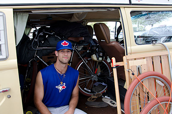 After signing with the Blue Jays in August of 2011 and receiving a $2 million signing bonus, pitching prospect Daniel Norris purchased a Volkswagen microbus and a couple of surfboards, then stashed the rest away for the future.