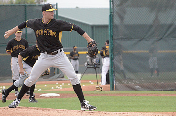 Pittsburgh Pirates pitching hopeful Ryan Beckman, who posted a 2.37 ERA in 2013, expects to play most of the season for the Altoona Curve, he says.