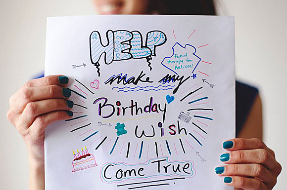 Instructor therapist Reem Eissa's 21st birthday wish is to raise $2,500 to help fund one-on-one intensive behaviour therapy for children with autism. The therapy, which helps teach communication skills, can cost $40–$50 for each one-hour session.