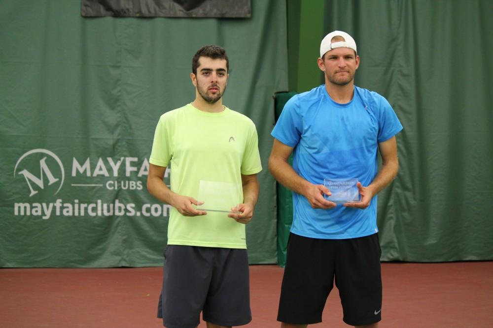 Farris Gosea, left, earned his first professional title last Saturday.