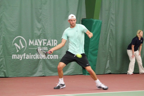 Canadian Philip Bester came up short in the ITF Futures final in Markham.
