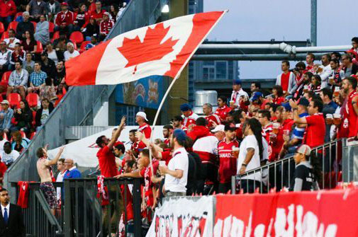 Canadians are inspired after first win in two years.
