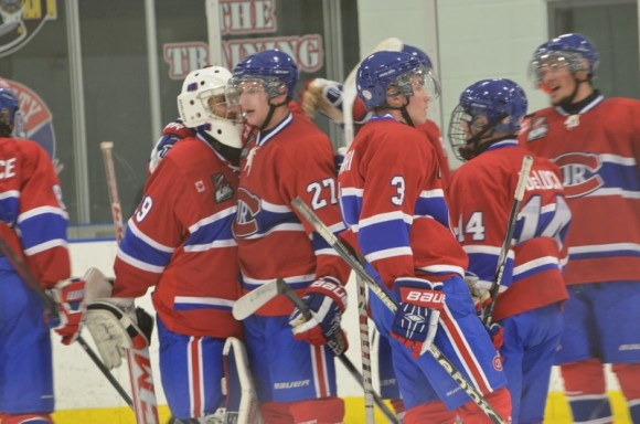 Junior A Canadiens avoid weekend sweep with 5-2 win