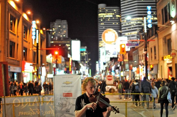 Several streets closing to cars for Nuit Blanche 2014