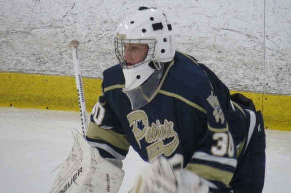 Future London Knights goaltender Emanuel Vella has no glaring weaknesses to his game.
