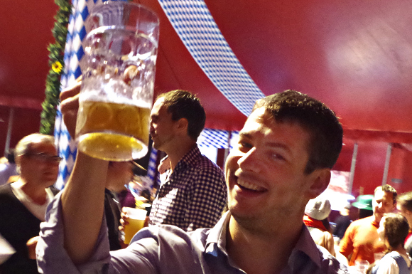 About 4,500 revellers were expected to raise a stien at this year's edition of Toronto Oktoberfest