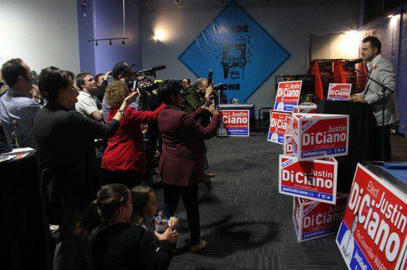 Justin Di Ciano elected in Etobicoke-Lakeshore
