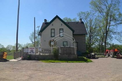 The Canadian Baseball Hall of Fame has been located in this unassuming farmhouse for over 20 years.