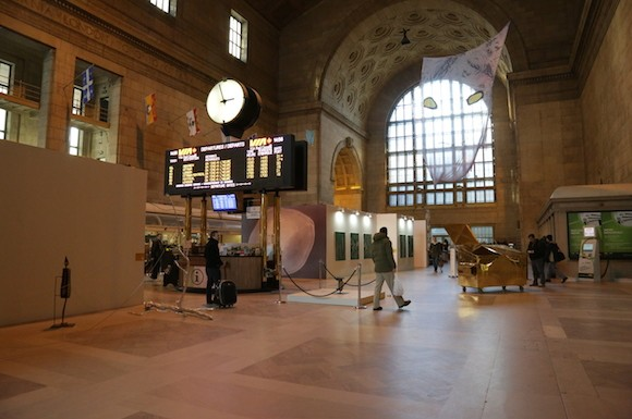 Villa Toronto exhibit at Union Station attracts a sparse crowd Friday January 26, 2015.