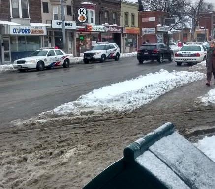 Stabbing took place outside Broadview subway station
