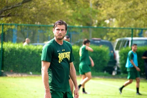 Defender Brad Rusin started his soccer career in Bradenton, Fla., and is now playing for the Tampa Bay Rowdies of the North American Soccer League.