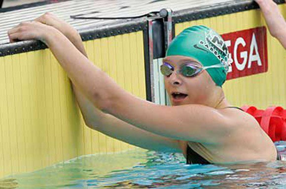 Erika Seltenreich.Hodgson is working with two of Canada's top swimming coaches. Photo: Courtesy Swim Canada.