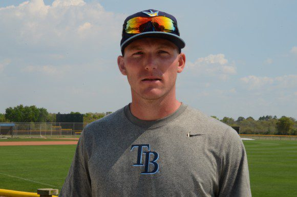 Rays outfielder Granden Goetzman has faced many obstacles  in his career, including the loss of his father.
