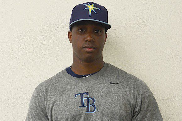 Catching prospect Blake Grant-Parks is looking to have an impactful spring training camp with the Tampa Bay Rays.