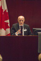 TTC CEO Andy Byford at a TTC board meeting March 26.