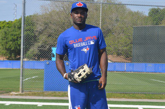 Blue Jays prospect Roemon Fields says the decision to revive his baseball career was driven by as much childhood passion as family valour.