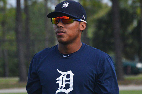 Detroit Tigers prospect Harold Castro is looking forward to improve in spring training.
