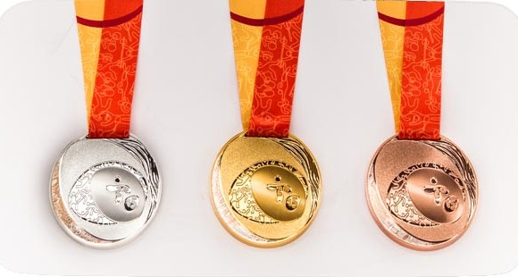 The Pan Am Games medals use metals from mines across America.