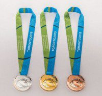 The medals, which may be made unethically according to critics.