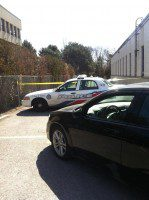 Scene of the stabbing at the Islamic Society of Toronto.