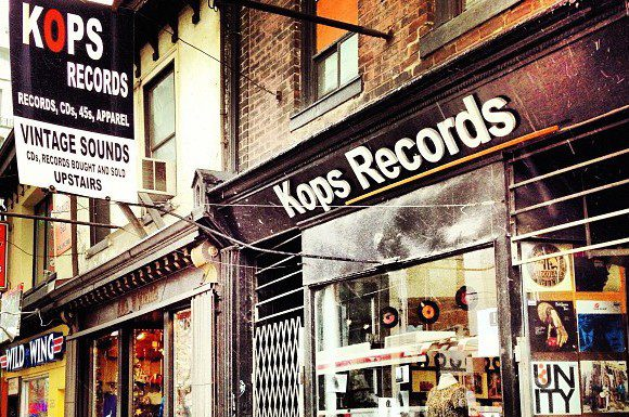 Kops Records on Queen St.