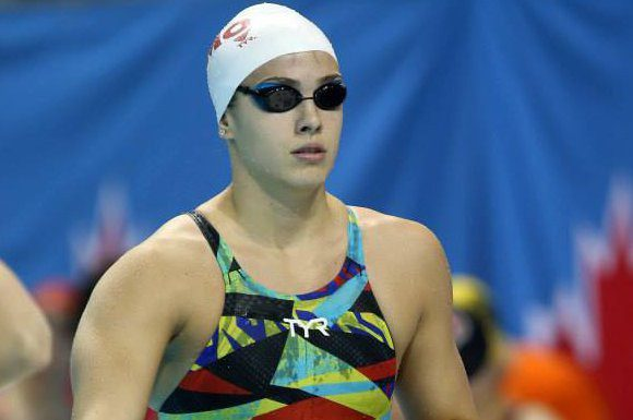 Ariane Mainville was unable to reach her goals at the National Swim Trials.