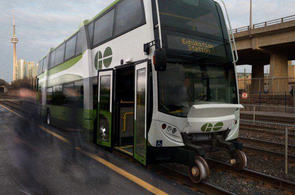 Artist's rendering of the Ambi-bus.
