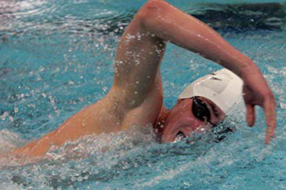 Luke Reilly took gold in 400 IM on Thursday at the national swim trials.