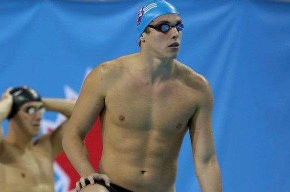 Condorelli qualified for the Pan Am Games this summer in a time of 48.83