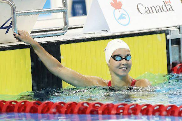 Winner of both the 200 and 400 individual medleys , Sydney Pickrem will represent Canada at the World Championships and Pan Am Games.