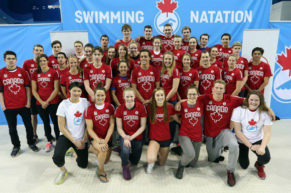 Team Canada for this summer's Pan Am Games and FINA World Championships.