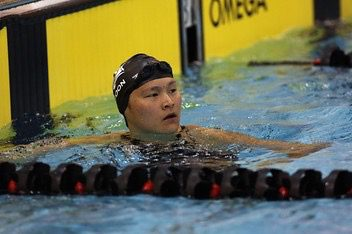 Victoria Poon happy to swim for Canada on the International stage.